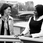 Gabrielle Dolan and Yamini Naidu