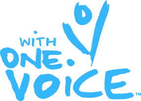 With One Voice Logo
